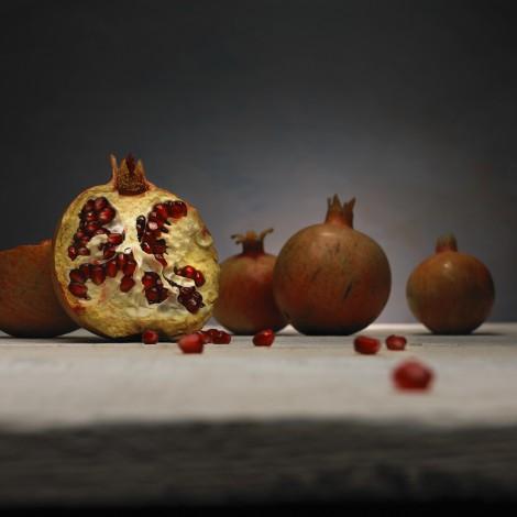 Cracked Pomegranate
