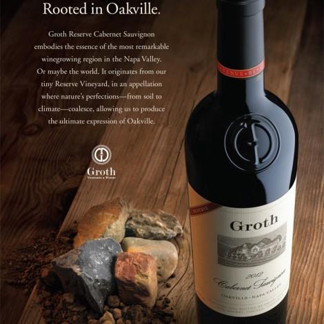 Groth Vineyards and Winery, Napa