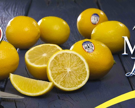 Sunkist Meyer Lemons