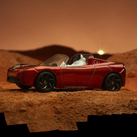 Starman on Mars